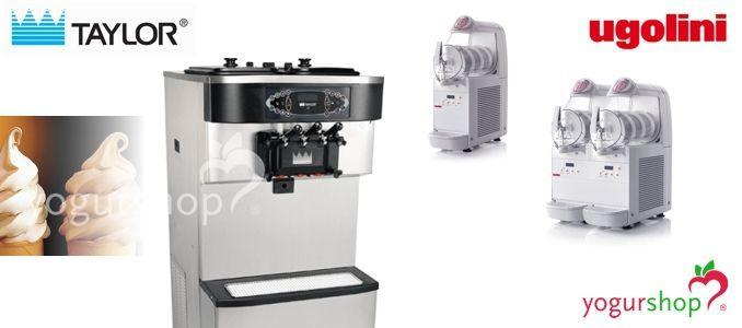 Máquinas de helado soft
